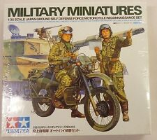 TAMIYA 35245 JGSDF Motorcycle Recon Set 1/35 Military Miniature