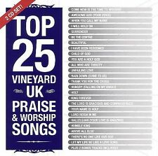 Top 25 Vineyard UK Praise & Worship Songs
