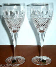 Waterford Irish Lace SET/2 Red Wine Glass Set Crystal 149576 New In Box