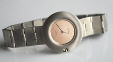 SKAGEN Swiss Quartz Stainless Steel Mod Round Face Copper Ladies Watch NICE