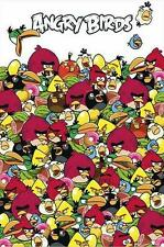 ANGRY BIRDS POSTER PILE UP