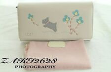 BNWT FLORAL RADLEY WOMEN CREAM WALLET MATINEE PURSE LARGE FLAP OVER  RRP £75