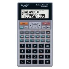 Sharp EL-738 10-Digit Financial Calculator Business Calculator EL738