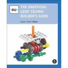 NEW The Unofficial LEGO Technic Builder's Guide by Pawel Sariel Kmiec (2012,