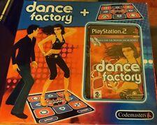 PS2 ALFOMBRA DE BAILE+ VIDEOJUEGO DANCE FACTORY