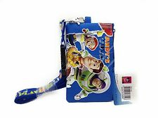 Disney Toy Story ID Holder Lanyards with Detachable Coin Purse - Blue