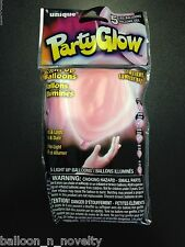 Unique LED Balloons, Light Up Balloons, Party Glow Pink Balloon Deco 5 ct.