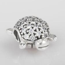 Authentic Genuine Pandora Sea Turtle Charm 791538cz