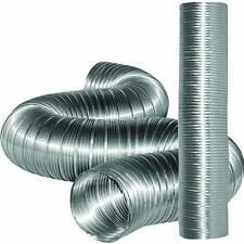 "6 Pk 5"" X 8' Aluminum Flexible Class 0 Exhaust Air Vent Pipe Duct Ducting MFX58X"