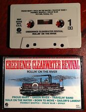 Rollin' on The River by Creedence Clearwater Revival Cassette