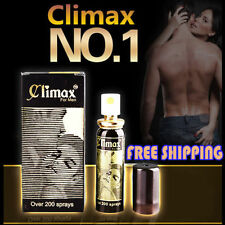 Climax Spray Stay Long Sexual Performance Guaranteed Delay Great Sexual Pleasure