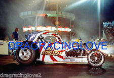 """Mike Sullivan """"Red, White & Blue"""" Fiat AA/Fuel Altered OCIR PHOTO!"""