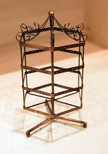 EARRING JEWELRY DISPLAY ROTATING HOLDER STAND RACK - COPPER C01