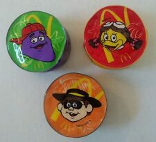 Vintage McDonalds coin purses- Grimace, Hamburglar and Birdie
