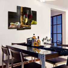 Red Wine Desserts Unframed Modern Picture HD Canvas Print Wall Art Painting