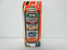 Matchbox 5 Pack Gift Set Hero City Sports with Smart Car 344