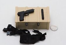 1/6 DAM Navy Seal Recon Team Leader MK23 Pistol Holster Set *TOY*