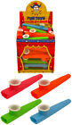 Childrens toy Plastic KAZOO Music Maker 4 Assorted Colours 11cm