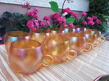 WMF Myra Bowle Tassen Karl Wiedmann Art Glass Bowl Becher Art Deco