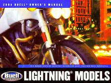 2004 BUELL LIGHTNING MOTORCYCLE MODELS OWNERS MANUAL -BUELL-XB12S & XB9S