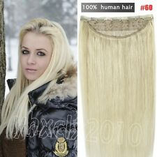 THICK 160g 200g One Piece Clip in 100% Remy Human Hair Extensions Full Head Set