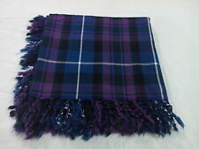 T.C PRIDE OF SCOTLAND TARTAN WOOL FLY PLAID/FLY PLAID PRIDE OF SCOTLAND