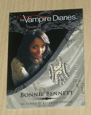 Cryptozoic Vampire Diaries wardrobe costume Bonnie Bennett Kat Graham M7 var #1