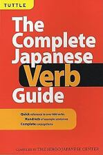 The Complete Japanese Verb Guide by Hiroo Japanese Center Staff (2001,...