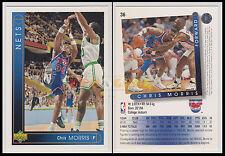 NBA UPPER DECK 1993/94 - Chris Morris # 36 - Nets - Ita/Eng - MINT