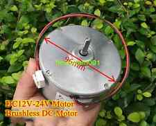 1pcs DC12V~24V 600~1200rpm Brushless Motor Slow motor DIY