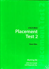 OXFORD PLACEMENT TEST 2: Marking Kit / DAVE ALLAN @BRAND NEW, SEALED@