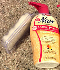 NAIR HAIR REMOVER - SHOWER POWER MOISTURIZING SPA CLAY 13 OZ