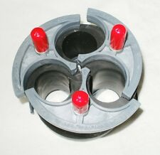 """Cal Am Manufacturing 7340-123 Wedge Seal Cable Termination Plug 3WAY CABLE 4"""" ID"""