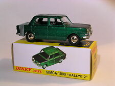 Simca 1000 rallye 2  - ref 520 au 1/43 de dinky toys atlas