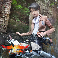 Hot Attack on Titan Shingeki no Kyojin Levil Scouting Legion Costume for Cosplay