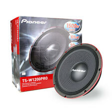 """Pioneer  TS-W1200PRO 12"""" Pro Series Subwoofer wih Dual 4 Voice Coil 1500W"""