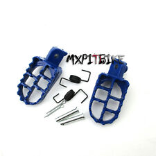 Pit Dirt Bike Aluminum Foot Pegs Footpegs Fit Yamaha TW200 PW50 PW80