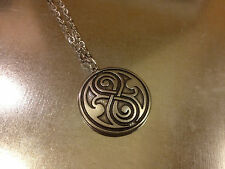 DR DOCTOR WHO CIONDOLO NECKLACE DOTTOR TARDIS RASSILON GALLIFREYAN PHONE BOX #2