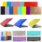 """2in1 Crystal Hard Case+Keyboard Cover for MacBook Air Pro Retina 11"""" 13"""" 15""""inch"""
