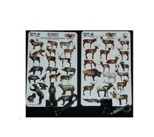 full color score card holder arrow placment  MCKENZIE 3D targets deer gator bear