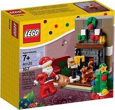 LEGO Natale - 40125 Babbo zu Besuch / Visit - nuovo e in confezione originale