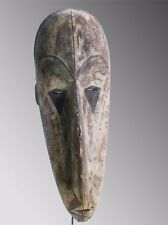 old African mask. ancien Masque africain FANG afrikanische kunst tribal art prem