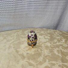 Vintage! Flower/Porcelain Egg