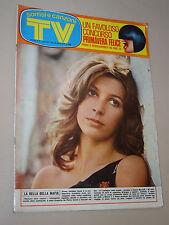 TV SORRISI CANZONI=1973/13=STEFANIA CASINI=MIA MARTINI=LUCIO BATTISTI=