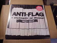 LP:  ANTI-FLAG  A Document Of Dissent 1993-2013 2xLP NEW SEALED