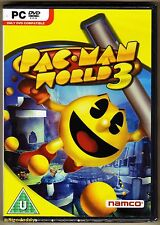 PC Pac-Man World 3, UK Version, Brand New & Factory Sealed