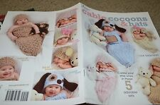 Annie's Crochet Cable Cocoons & Hats Baby Pattern Book