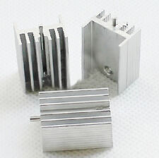 20Pcs Aluminum Heat Sink 21x15x10mm(With Pin) For Transistors TO-220
