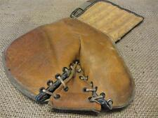 Vintage Leather Canada Goalie Hockey Glove   Antique Old Sports Equipment 9016