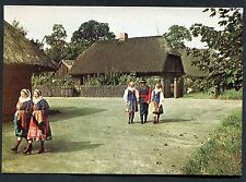 C1980's View of People in Traditional Dress, Skansen Open-Air Museum